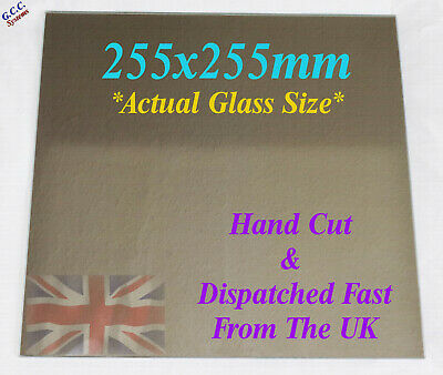 165 x 165mm Mirror Glass Plate For Heated 3D Printer Bed Creality ANet Prusa