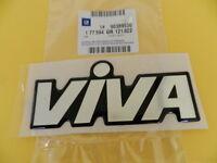 """Schriftzug Emblem """"VIVA"""" chrom/schwarz  Corsa A ORIGINAL OPEL 177594"""