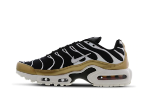 Details zu Womens Nike Air Max Plus TN Trainers Shoes BlackGold 605112 055 VARIOUS SIZES
