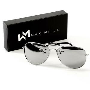 1e23d8bd4 Aviator Sunglasses Mirrored Men Ladies Women Unisex Vintage Retro Pilot. 1