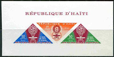 Erhaltung Zahlreich In Vielfalt Katalognummern Nach Michel-katalog 3920p Analytisch Haiti Block 23 * * Malaria