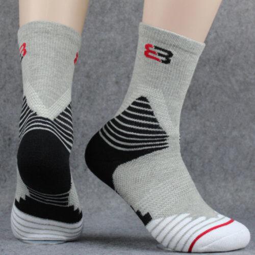 3 Pairs Men/'s Sport Socks Crew Skating Basketball Ankle Sock Casual Socks 7-12