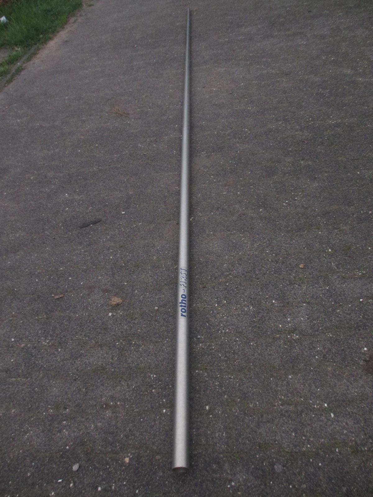 Rotho-First Aluminium Mast mit Gabelbaum, Höhe ca. 465 cm, Gewicht ca. 2,77 Kg