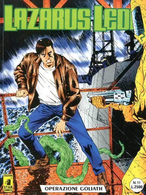 Immagine 1 - fumetto LAZARUS LEDD editoriale STAR COMICS (formato BONELLI) numero 11
