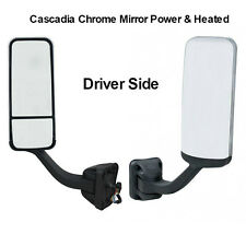 Freightliner Cascadia Chrome Door Mirror Driver Side Power&Heated A22-60713-005