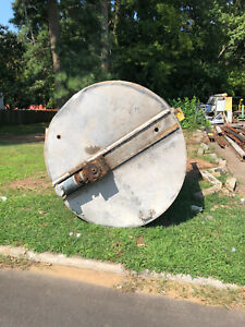 Stainless Steel Jacketed Tank Approx. 1150 Gallons with Twin Blade Mixer Used