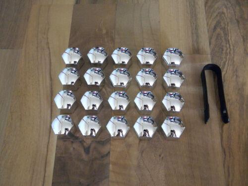 incl. desmontaje alicates 20 tapones para tornillos /& tuercas de rueda sw17