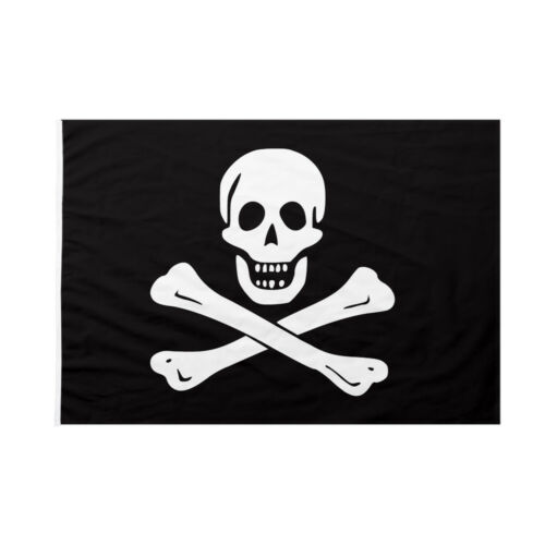 Bandiera da pennone Pirati Edward england nera 70x105cm
