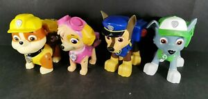 Paw-Patrol-Large-Pups-with-Pup-Packs-Rubble-Skye-Chase-Rocky-Bundle-of-4