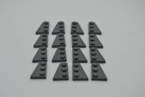 LEGO 8 Paar Flügel Platten 2x3 neues dunkelgrau 8 pair newdark grey 43722 43723