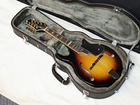 Gold Tone Gm-110 Rigel Design F-style Mandolin With Hard Case - Solid Top