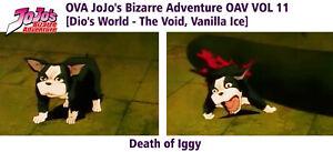 IGGY-DEATH-JOJO-Jojo-039-s-Bizarre-Adventure-Cels-Sketch-Animation-1993-Hand-Painted