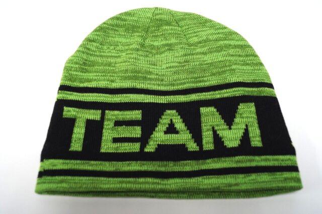 1dbb2201953 Lime Green Team Arctic Cat Snowmobile Fleeced Adult Beanie Hat 5293 ...