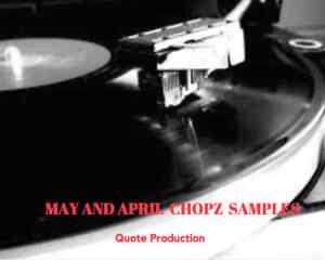 Details about Vintage April and May Samples Chopz- FL Studio, Logic MPC  etc=Rare=