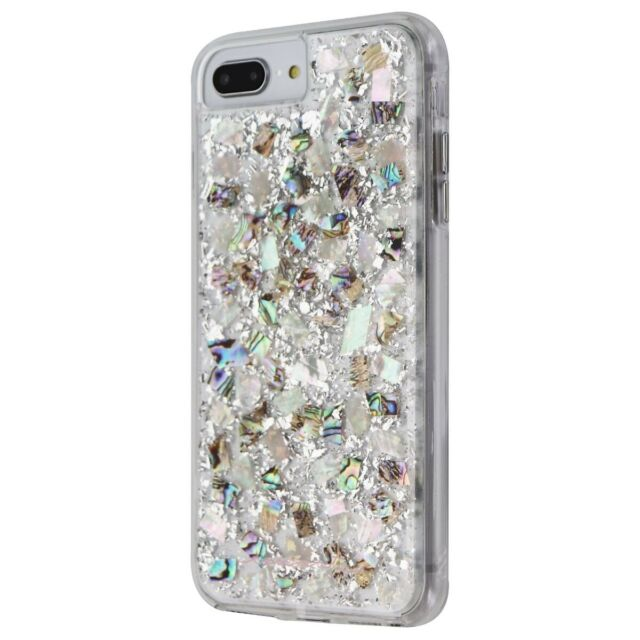 online store e2355 74d51 Case-Mate Karat Mother of Pearl Slim Protective Case for Apple iPhone 8/7/6  Plus