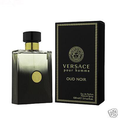 Versace Oud Noir pour Homme Eau de Herren Parfum 100ml
