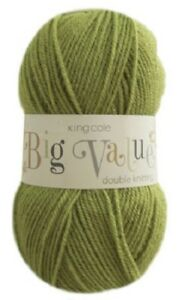 KING-COLE-BIG-VALUE-DOUBLE-KNITTING-Various-Colours