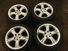 "Mercedes-Benz CLK Class W209 17"" 7.5J 8.5J wheel set with tires 2094010302"