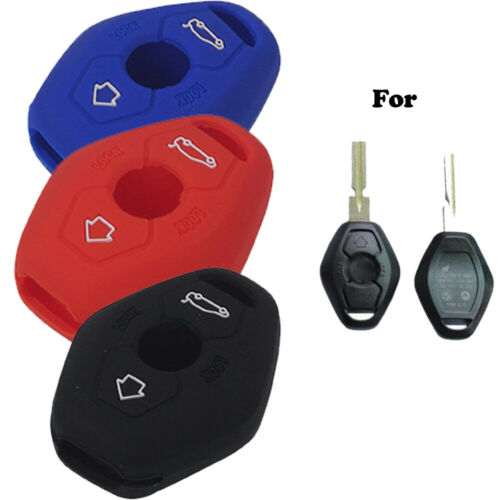 Portable Protection Candy Color Controller Case 3 Buttons For BMW Car Key Cover
