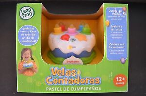 Image Is Loading Leapfrog Counting Candles Birthday Cake Spanish Version