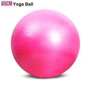 Exercise-Gym-Yoga-Swiss-Ball-Fitness-Pregnancy-Birthing-Anti-Burst-Balls-65-cm