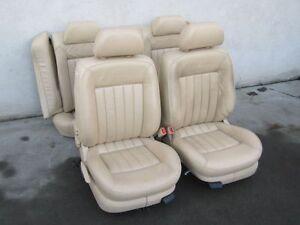 lederausstattung vw passat 3bg w8 limousine beige. Black Bedroom Furniture Sets. Home Design Ideas
