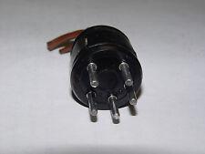 1 - Vintage 5-Pin Male  Amphenol Plug Hammond Baldwin-Other Pin Variations Avail