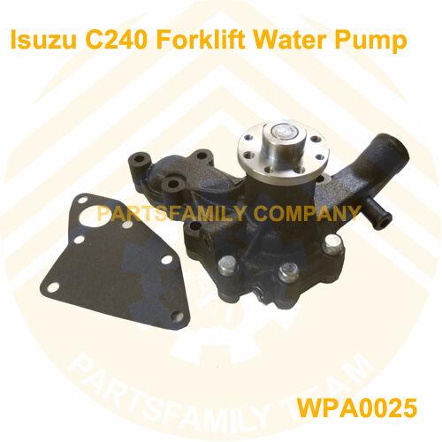 Engine Water Pump for Isuzu C240 C240PKJ Engine Tcm Komatsu Hyster Forkliftruck