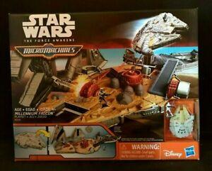 "HASBRO Star Wars The Force Réveille MICROMACHINES Faucon Millenium FIGURINES /""NEUF/"""
