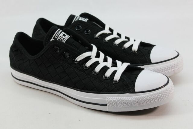 humor plan cisne  Converse Chuck Taylor All Star Canvas Unisex Woven Black/White W 11/ M 9  for sale online