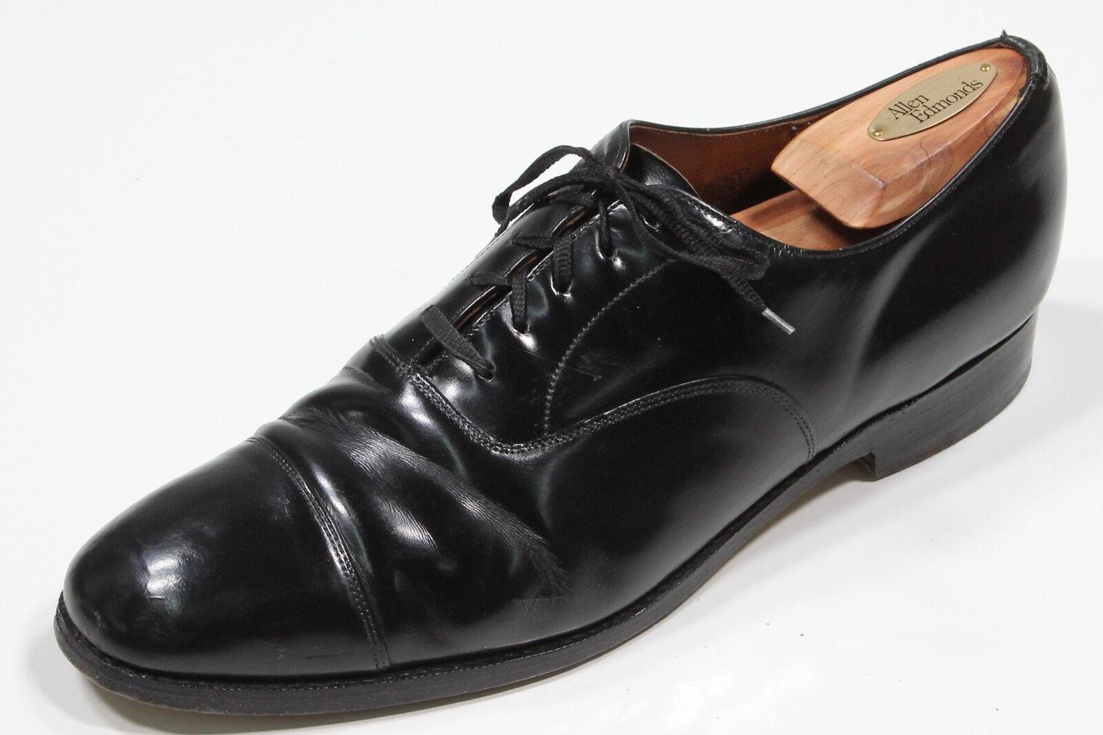 CHURCH'S Schwarz 'Balmoral' Grade Leder Oxford Formelle Schuhe Us 10 D