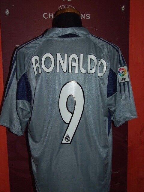 RONALDO REAL MADRID 2004-2005 MAGLIA SHIRT CALCIO FOODALL MAILLOT JERSEY SOCCER