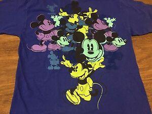 Disneyland-Walt-Disney-World-Mickey-Mouse-Purple-Large-T-Shirt