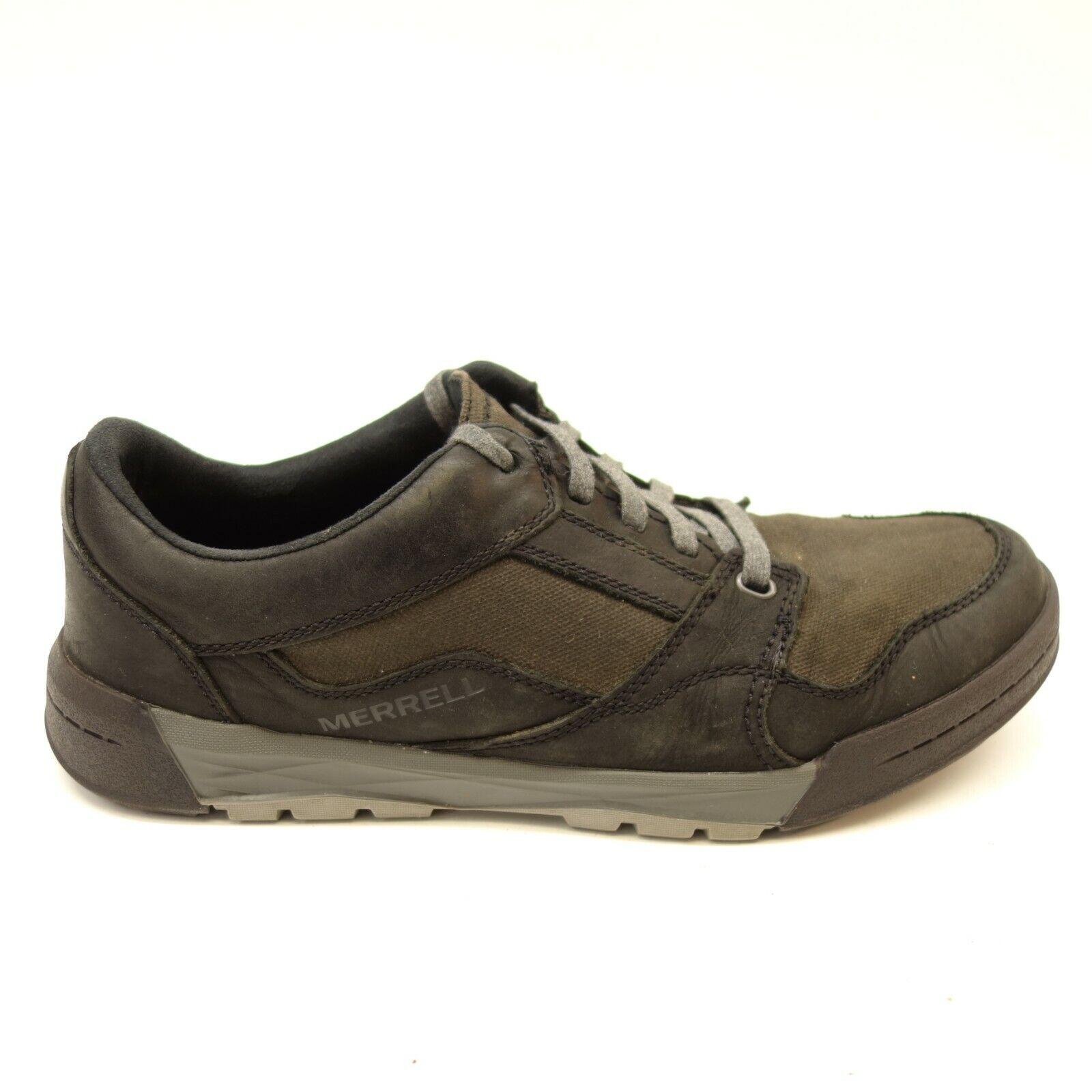 Merrell Uomo Berner nero Shift Lace Leather Athletic Trail Trail Trail Hiking scarpe Dimensione 10 8a71a7
