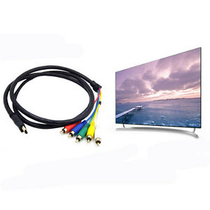 5FT-1080p-HDMI-Male-to-3-RCA-AV-Audio-Video-Cable-Cord-Adapter-For-TV-HDTV-DVD