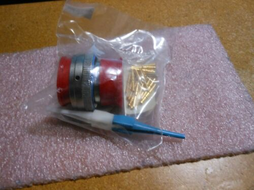AERO CONNECTOR W//CONTACTS PART # MS3476L22-21PX  NSN 5935-01-111-3583