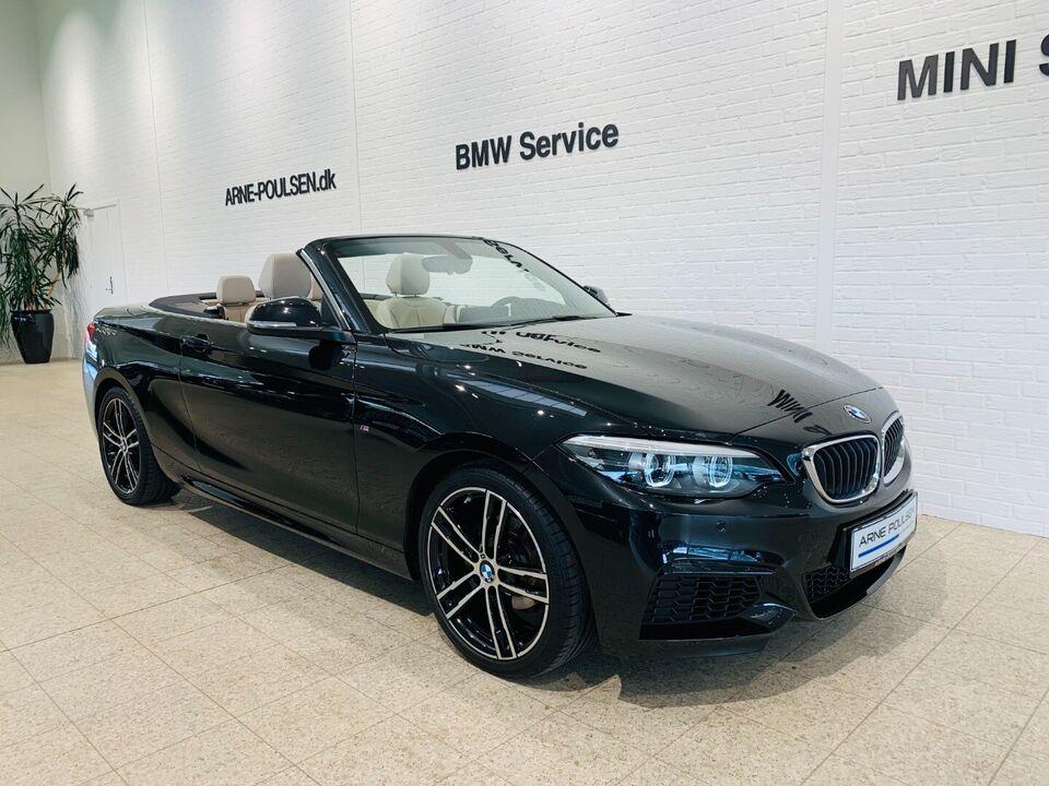BMW 218i 1,5 Cabriolet aut.,  2-dørs