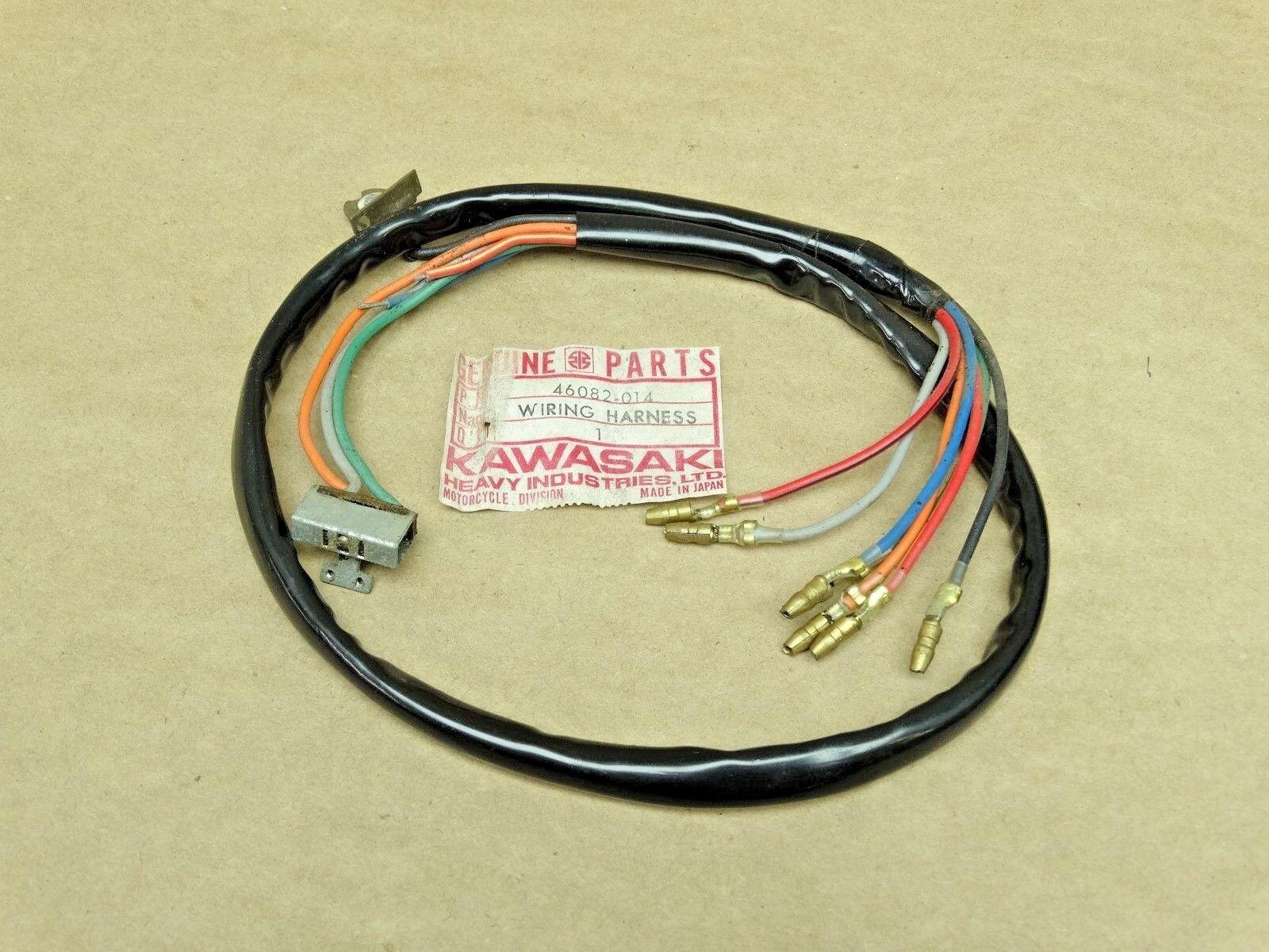 Kawasaki Nos Left Handlebar Switch Wire Harness H1 Kh500 Mach Iii Kh Wiring For 500 H 1 Ebay