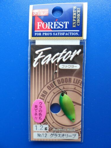 Forest Factor 1.2g different colors