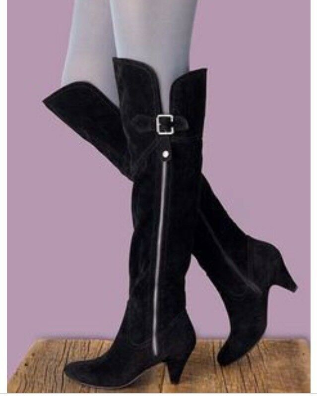 CHARLES ALBERT SUEDE OVER-THE-KNEE BAILEY BOOT