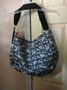 Sanrio-Hello-Kitty-XL-Blue-and-White-Tote-Bag