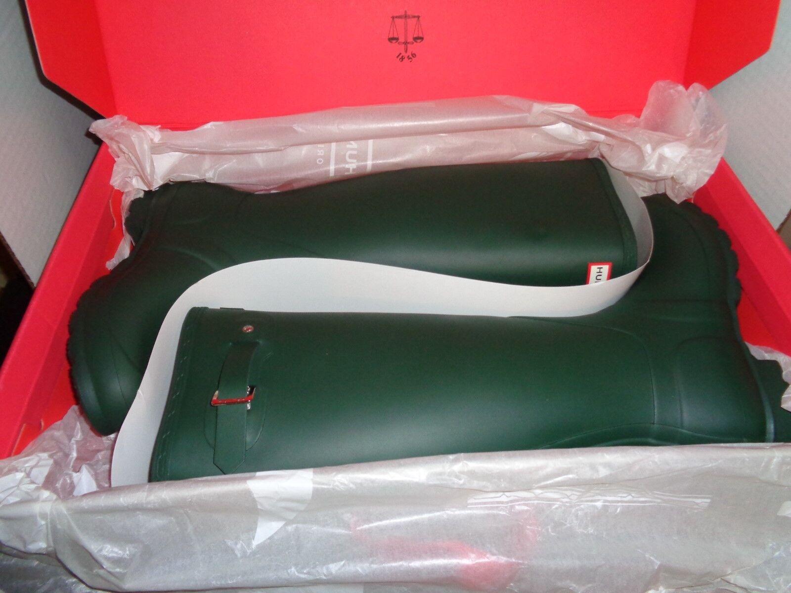 Hunter Original Tall verde oscuro Zapatos botas De Lluvia Lluvia Lluvia Talla 8 de EE. UU.  alta calidad y envío rápido