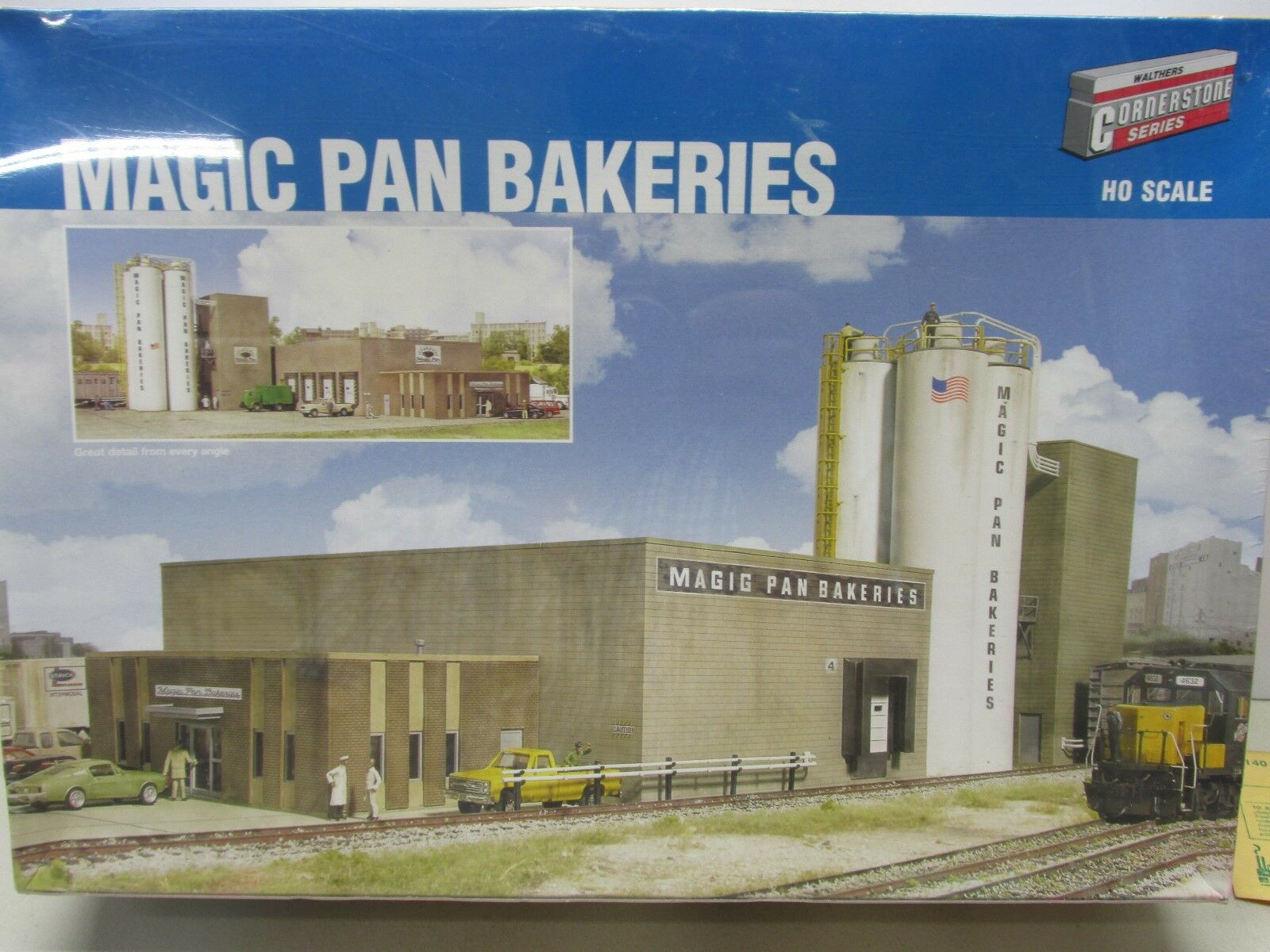 WALTHERS-MAGIC PAN BAKERIES-BUILDING KIT  HO SCALE