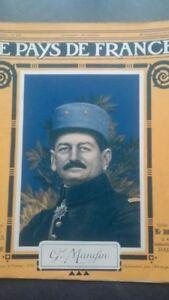 Rivista Il Paesi Di Francia Il Mattina N° 102 Parigi 1916 GAL Mangin