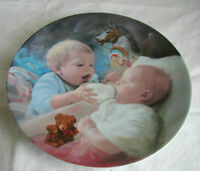 """""""CHRISTOPHER AND KATE"""" PLATE KNOWLES BY MaCo EARLY CHILHOOD SERIES"""