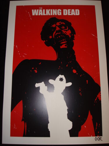"The Walking Dead Rick 24/"" x 36/"" poster print"