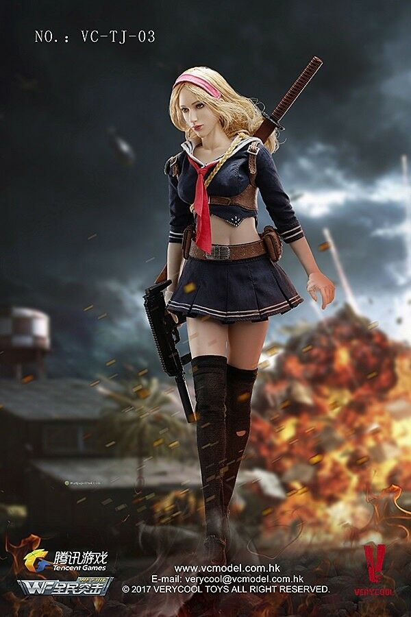 VeryCool Hot Sexy Sexy Sexy Blade Girl School Girl Sailor Uniform for 1 6 12 in scale Toys 72b9ad