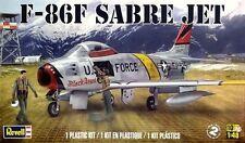 Revell Monogram F-86F Sabre Jet transonic jet fighter aircraft model kit 1/48