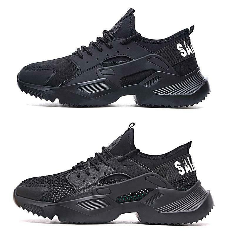 Mens/Womens Breathable Safety Shoes Steel Toe Lightweight Work Sports Trainers
