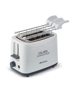 Tostapane-Ariete-tosta-pane-Qubi-2-pinze-fette-toast-157-raccogli-briciole-Rotex